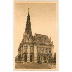 carte postale ancienne 89 SENS. Hôtel de Ville