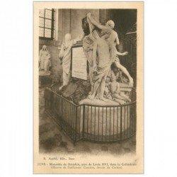carte postale ancienne 89 SENS. La Cathédrale Mausolée du Dauphin