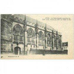 carte postale ancienne 89 SENS. Le Palais Synodal