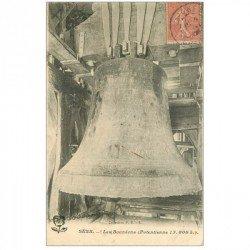 carte postale ancienne 89 SENS. Les Bourdons de la Cloche 1906