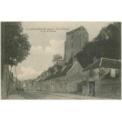 carte postale ancienne 02 LA FERTE-MILON. Château Rue de Meaux
