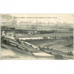 carte postale ancienne 89 SENS. Monastère de Sainte Colombe et Vallée Yonne