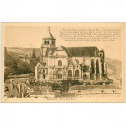 carte postale ancienne 89 TONNERRE. Eglise Saint Pierre
