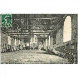 carte postale ancienne 89 TONNERRE. Intérieur de l'Ancien Hôpital 1908