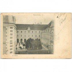 carte postale ancienne 89 TONNERRE. Le Collège 1903