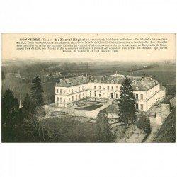 carte postale ancienne 89 TONNERRE. Le Nouvel Hôpital 1915