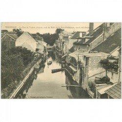 carte postale ancienne 89 TONNERRE. Rue de Venise 1913