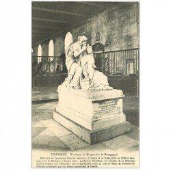 carte postale ancienne 89 TONNERRE. Tombeau Marguerite de Bourgogne 1913