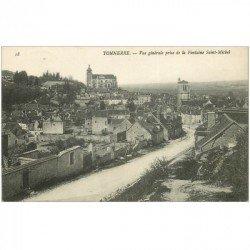 carte postale ancienne 89 TONNERRE. Vue de la Falaise Saint Michel 1908