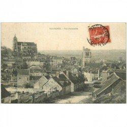 carte postale ancienne 89 TONNERRE. Vue d'ensemble 1907