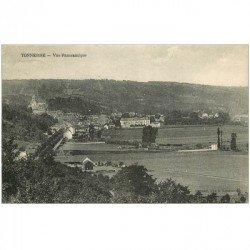carte postale ancienne 89 TONNERRE. Vue panoramique 1925