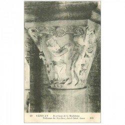 carte postale ancienne 89 VEZELAY. Basilique Jacob bénit Isaac