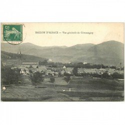 carte postale ancienne 90 BALLON D'ALSACE. Giromagny