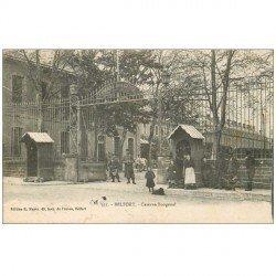 carte postale ancienne 90 BELFORT. La Caserne Bougenel. Militaires et Sentinelles 1918 n° 331