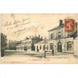 carte postale ancienne 90 BELFORT. La Gare 1913