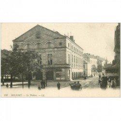 carte postale ancienne 90 BELFORT. Le Théâtre 1918