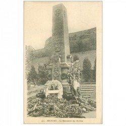 carte postale ancienne 90 BELFORT. Monument des Mobiles 1918