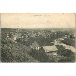 carte postale ancienne 90 BOUROGNE. Le Village 1918