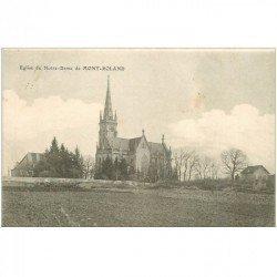 carte postale ancienne 90 MONT ROLAND. Eglise de Notre Dame 1909