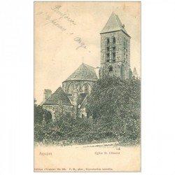 carte postale ancienne 91 ARPAJON. Eglise Saint-Clément 1906