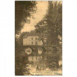 carte postale ancienne 91 AUVERS SAINT GEORGES. Le Château de Gravelle