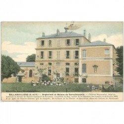 carte postale ancienne 91 BALLAINVILLIERS. Orphelinat et Maison de Convalescence Elèves et Bonnes Soeurs