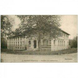 carte postale ancienne 91 BLIGNY. Pavillon des Infirmières 1928