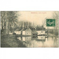 carte postale ancienne 91 BOIGNEVILLE. Moulin Argeville 1907