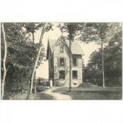 carte postale ancienne 91 BOIS DE VILLEMOISSON SUR ORGE. Villa La Paisible 1908