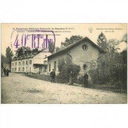 carte postale ancienne 91 BOUCHET. Poudrerie Militaire Nationale. Tampon militaire 1914