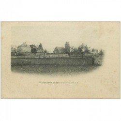 carte postale ancienne 91 BRIIS SOUS FORGE. Vue d'ensemble vers 1900