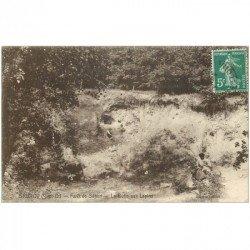 carte postale ancienne 91 BRUNOY. La Butte aux Lapins 1911 avec Enfants