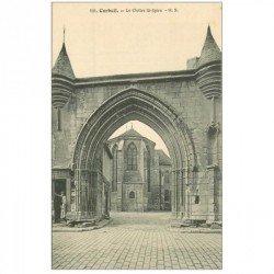 carte postale ancienne 91 CORBEIL ESSONNES. Cloître Saint Spire