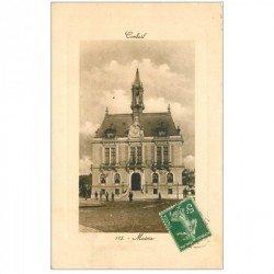 carte postale ancienne 91 CORBEIL ESSONNES. La Mairie 1913