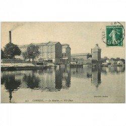carte postale ancienne 91 CORBEIL ESSONNES. Le Moulin 1908
