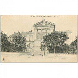 carte postale ancienne 91 CORBEIL ESSONNES. Palais de Justice et Prisons vers 1900