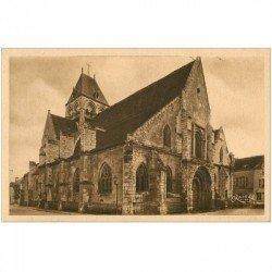 carte postale ancienne 91 ETAMPES. Eglise Saint Basile . Rameau