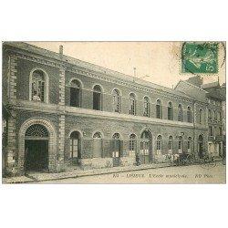 carte postale ancienne 14 LISIEUX. L'Ecole Municipale 1913