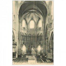 carte postale ancienne 91 ETAMPES. Eglise Saint Martin d'Etampes