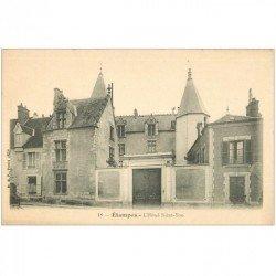 carte postale ancienne 91 ETAMPES. Hôtel Saint Yon