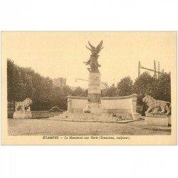 carte postale ancienne 91 ETAMPES. Le Monument aux Morts 1936 par Benneteau
