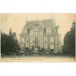 carte postale ancienne 91 JUVISY SUR ORGE. Château de Bel Fontaine 1915