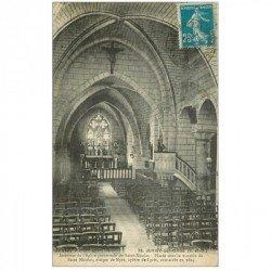 carte postale ancienne 91 JUVISY SUR ORGE. Eglise Saint Nicolas en l'état...