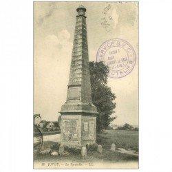 carte postale ancienne 91 JUVISY SUR ORGE. La Pyramide 1916