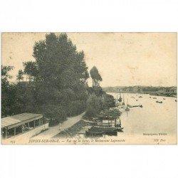 carte postale ancienne 91 JUVISY SUR ORGE. Le Restaurant Lapreuvote