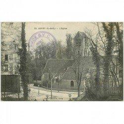 carte postale ancienne 91 JUVISY SUR ORGE. L'Eglise 1916