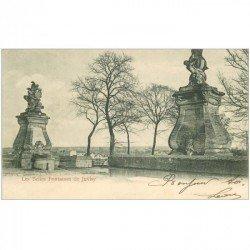 carte postale ancienne 91 JUVISY SUR ORGE. Les Belles Fontaines 1903