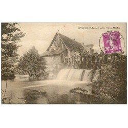 carte postale ancienne 14 LIVAROT. Le Vieux Moulin 1932