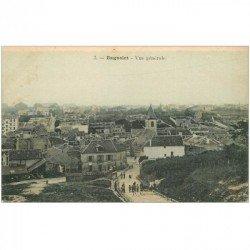 carte postale ancienne 93 BAGNOLET. Descente de la Rue de Montreuil devenue Rue Lénine. En couleur