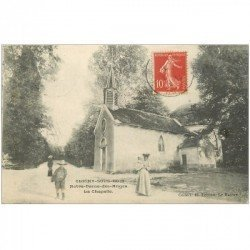 carte postale ancienne 93 CLICHY SOUS BOIS. Notre Dame des Champs la Chapelle 1907